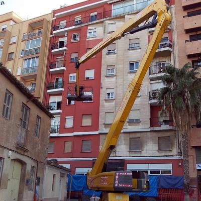 Rehabilitación de fachada.