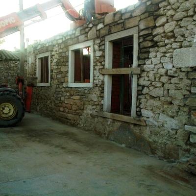 Rehabilitación de fachada, Almeida de Sayago, Zamora