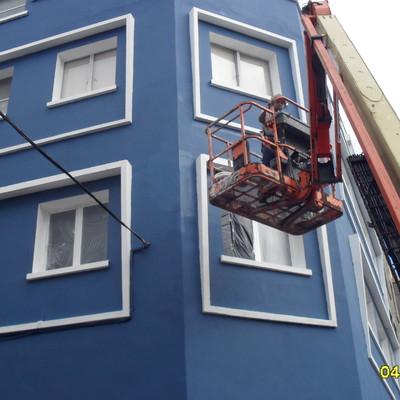 Rehabilitacion de fachada las palmas