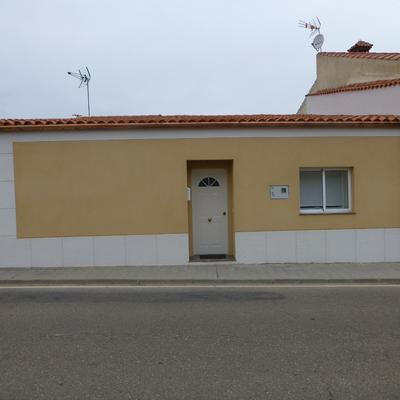Rehabilitación de fachada y montaje de canalón