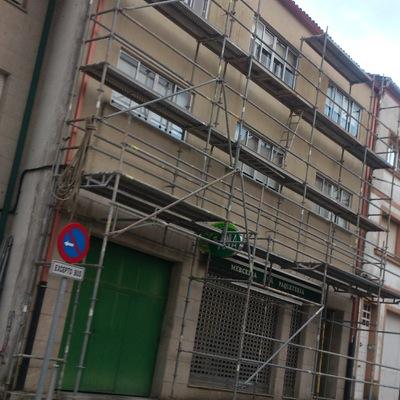 rehabilitacion de fachada y tejado de la vivienda