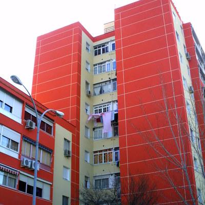 rehabilitación de fachadas aislamiento termico