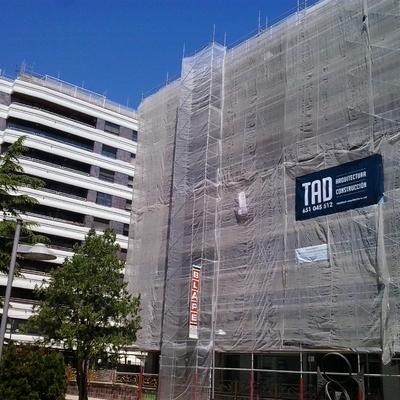 Rehabilitación de fachadas Edificios La Marina, Zamora