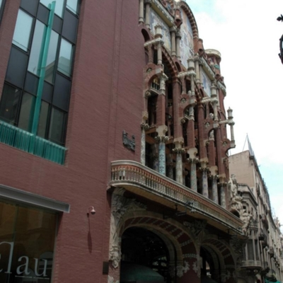 Rehabilitación de Fachadas Palau de la Música