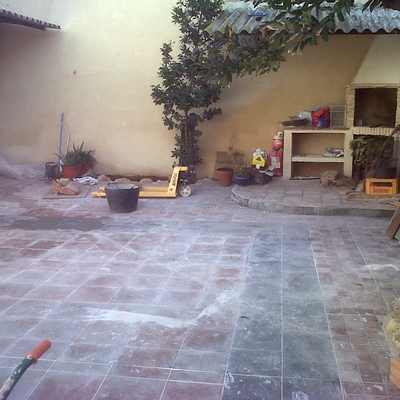 Rehabilitacion de patio