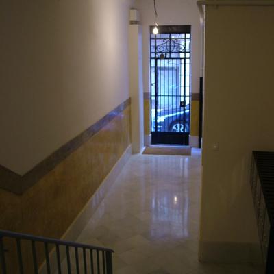 Rehabilitación de vestíbulo comunitario