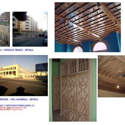 Rehabilitación de vivienda; Edificio Gonzalo de Bilbao; Naves industriales