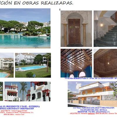 Rehabilitación de vivienda; Urbanización el presidente; Chalet pareados