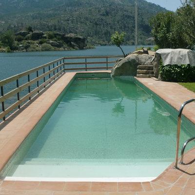 Rehabilitación piscina con lámina armada