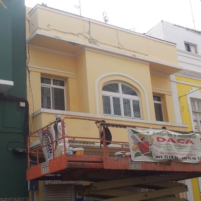 Rehabilitación edificio C/ Perez Muñoz Nº 34