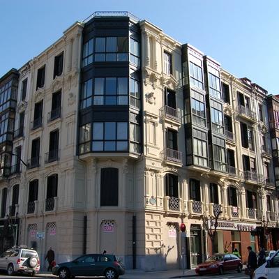 Rehabilitacion edificio viviendas 1890 Bilbao