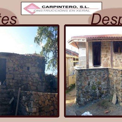 Rehabilitación en Alongos, Ourense