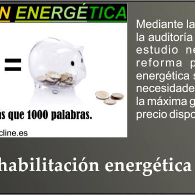 Rehabilitación energética de edificios y viviendas
