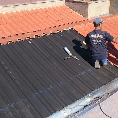 Rehabilitación integral de cubierta inclinada en Zamora