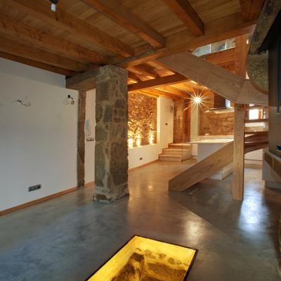 rehabilitación integral de vivienda rústica de 300 años