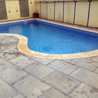 Rehabilitación piscina con lámina ALKORPLAN 3000