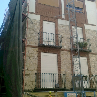Rehabilitación singular en casco antiguo (Jaén)