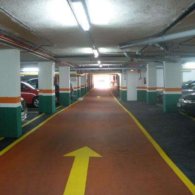 rehabilitación y pavimentación de garajes