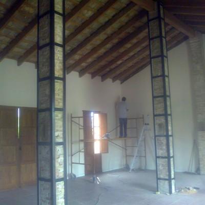 Rehabilitacion y refuerzos pilares