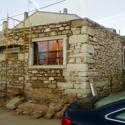 Rehabilitando antigua casa de pueblo en Zamora