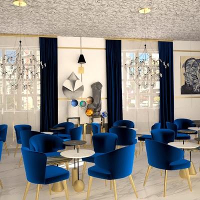 Decoración Cafetería clásica