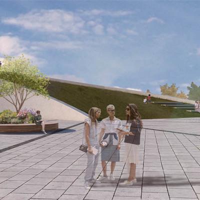 Cubrición espacio público