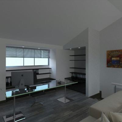 Reforma de Salon de juegos y oficina en casa, para mas informacion Visita www.rysibcn.com