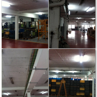 Renovación instalación eléctrica en industria intenacional