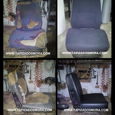 Reparación asientos de Maquinaria
