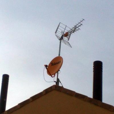 Reparación de antenas
