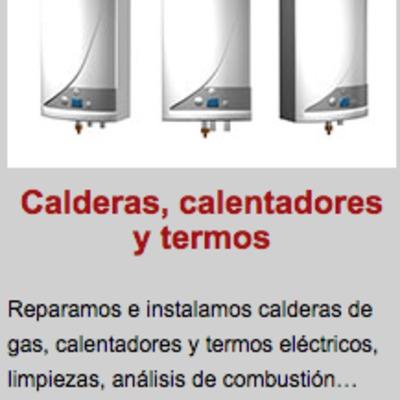 REPARACION DE CALENTADORES, CALDERAS Y TERMOS