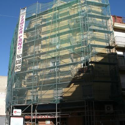 Reparación de fachada. DAU arquitectos.