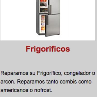REPARACION DE FRIGORIFICOS, CAMARAS FRIGORIFICAS Y FRIO INDUSTRIAL