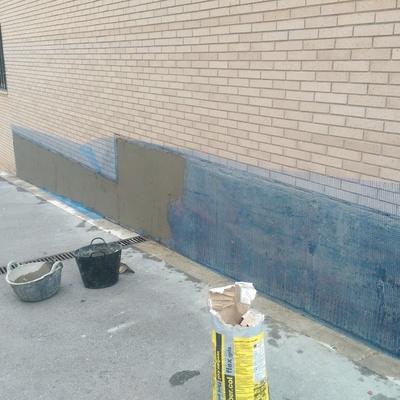 Reparacion de muro en comunidad Sabadell Can llong