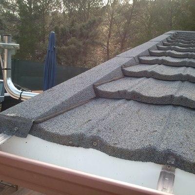 Reparación de tejados de casas de madera