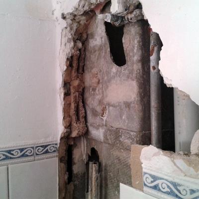 reparación fontanería