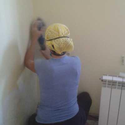 Reparacion de humedad en paredes. Acabados Finales