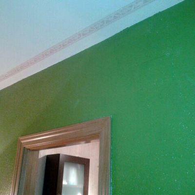 Reparación humedades en salón en Madrid