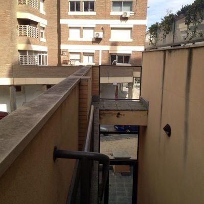 Reparación separador terraza