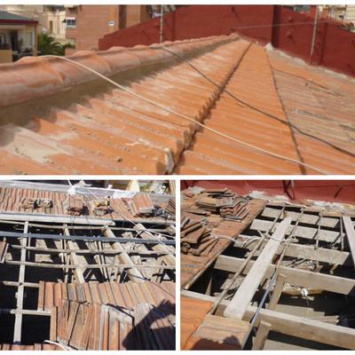 Reparación tejado comunidad de propietarios