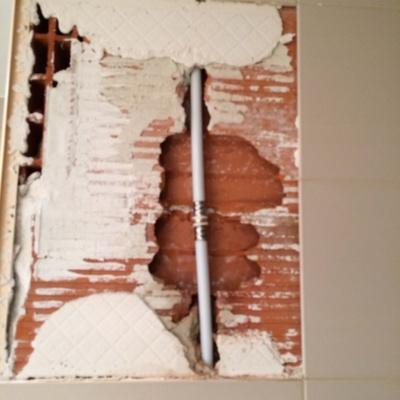 Reparación tubería multicapa