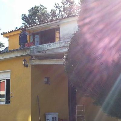 Reparación y pintura en fachadas