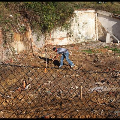 Replanteo de excavaciones, cimentaciones y voladuras