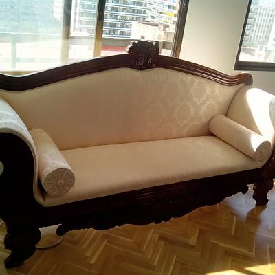 restaruacion sofa clasico