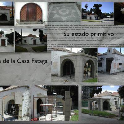 Restauración casa Fataga, recuperación porche original de Miguel Mrtín de La Torre.