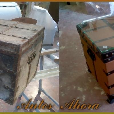 Restauración de baúl