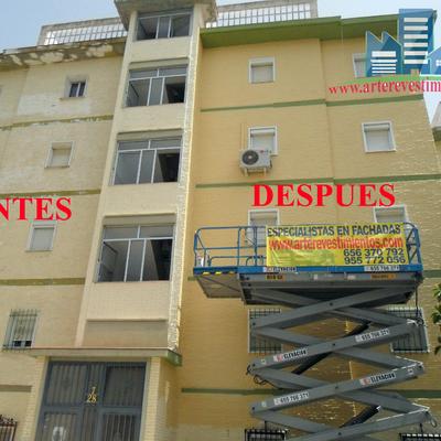 RESTAURACION DE FACHADA DE EDIFICIO