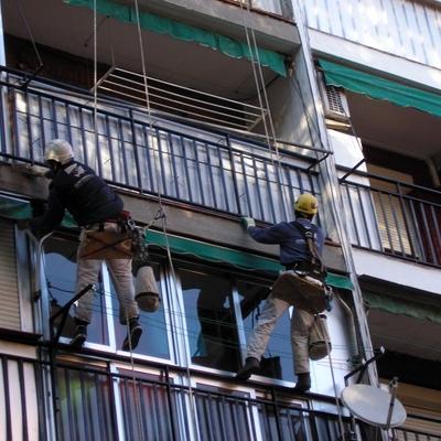 Restauración de fachada madrid