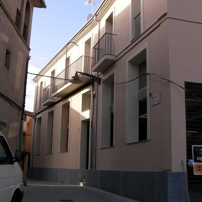 Restauracion de fachada y elementos metalicos