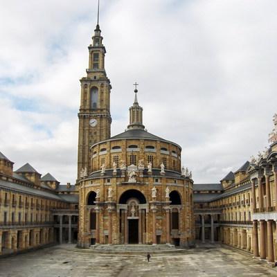 Restauración de fachadas Universidad Laboral de Gijón (Asturias)